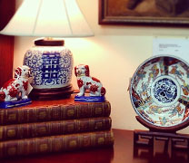 Accessories from Pickwick Antiques