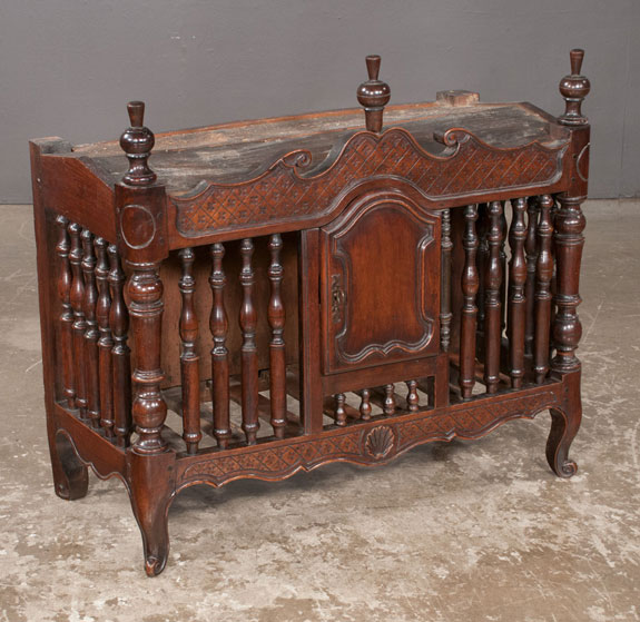 French Provincial Walnut Pannetiere