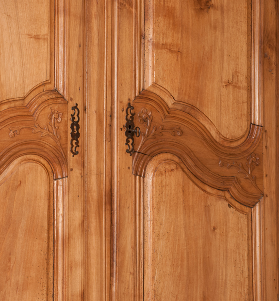 An Exceptional Country French Walnut Armoire