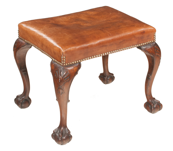 Chippendale Style Stool