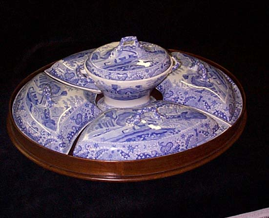 Spode Breakfast And Supper Set.