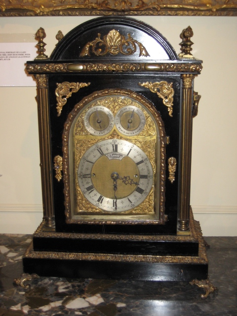 Three Train Bracket Clock