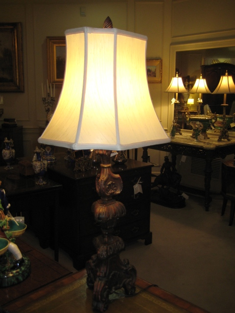 Candlestick Style Lamp
