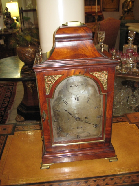 George III Table Clock