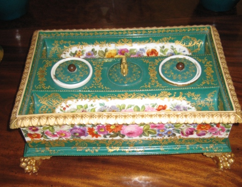 Jacobian Style Inkstand