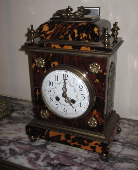Georgian Tortoise-shell Bracket Clock