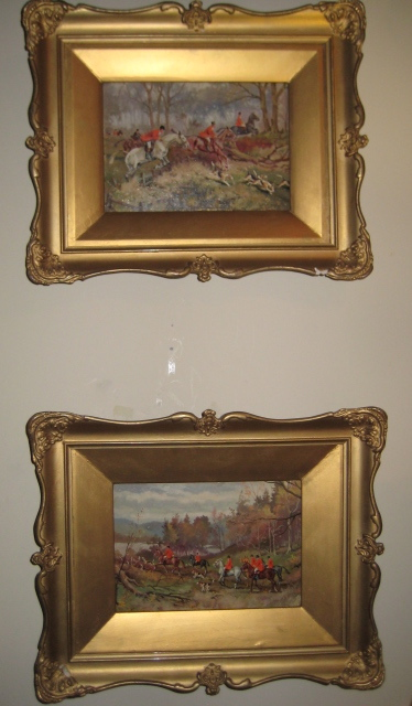Pair Of Paintings On Board By G. Hammond