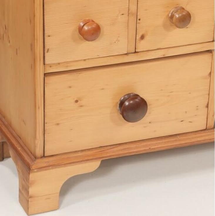 English Pine Apothecary Chest
