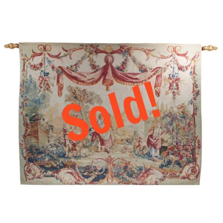 Exceptional French Hanging Tapestry