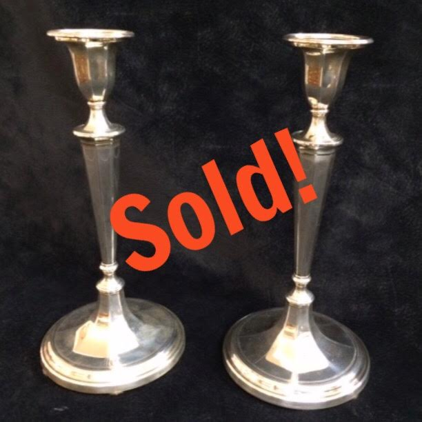 Pair of Tiffany & Co. Candlesticks
