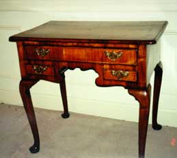 Walnut Queen Anne Style Lowboy