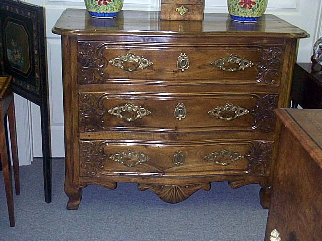 18th Century Country French Walnut Commode