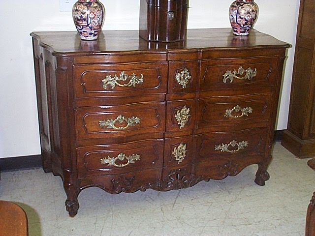 A Superb Country French Walnut Commode