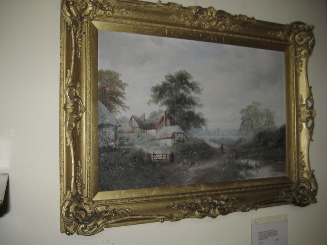 Oil On Canvas By Arthur James Lewis