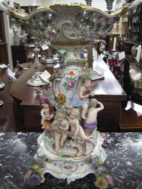 A Magnificent Meissen Centerpiece