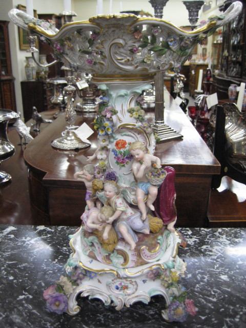 A Magnificent Meissen Centerpiece