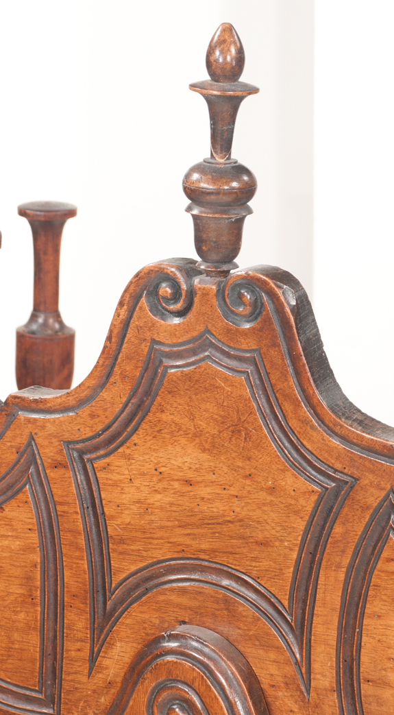 French Country Walnut Panettiere  (SOLD)