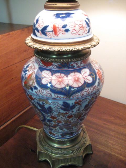 Imari Porcelain Lamp