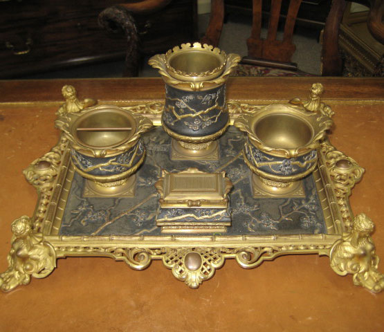 French Empire Desk Set