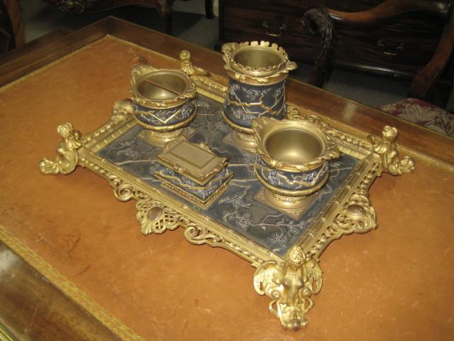 French Empire Desk Set