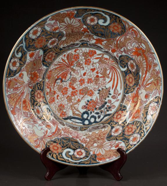 Fine Imari Porcelain Charger