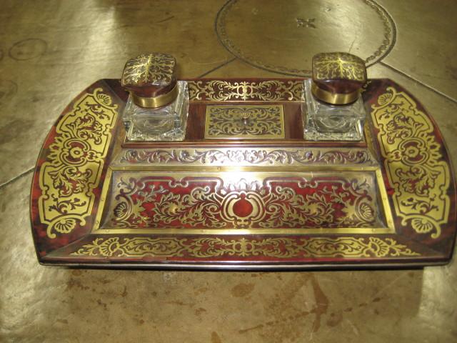 Boulle Desk Set
