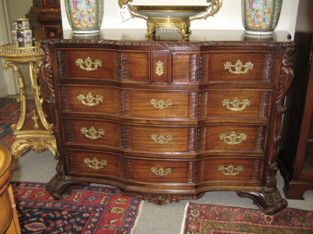 Portuguese Mahogany Chest