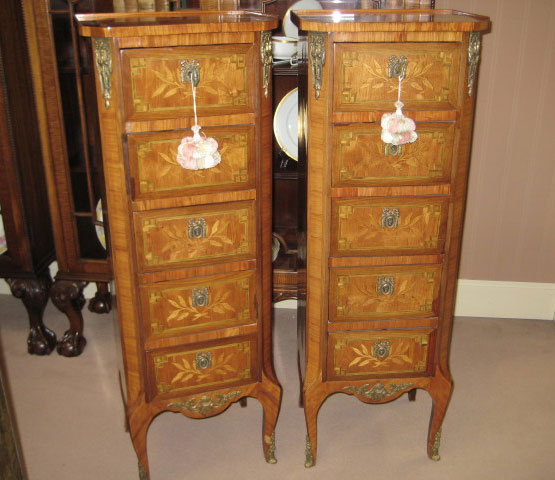 Pair Of Louis XV Style Semaniers
