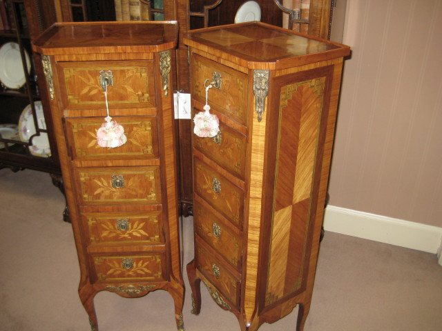 Pair Of Louis XV Style Semaniers  (SOLD)