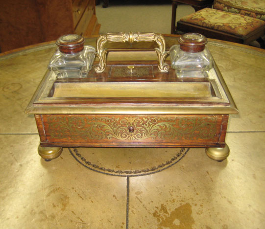 Louis XVI Rosewood Desk Stand