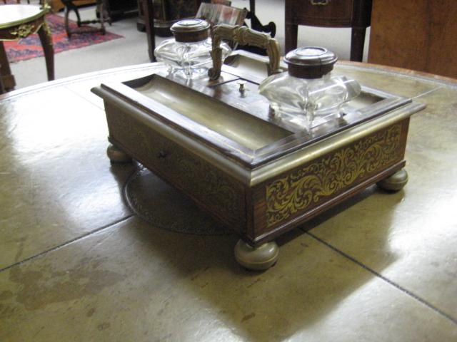 Louis XVI Rosewood Desk Stand