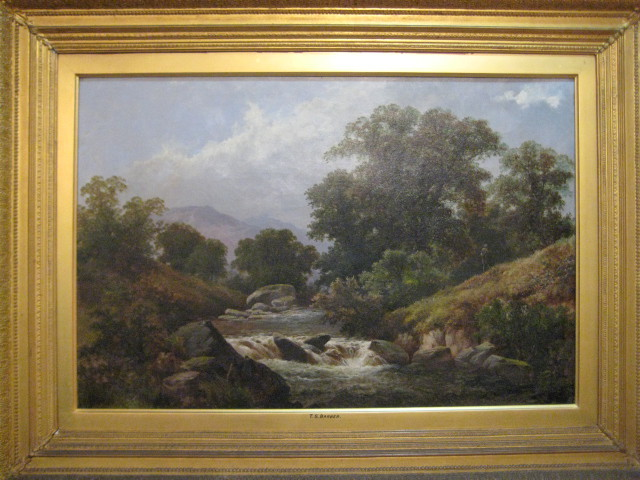 English Landscape By T. S. Barber