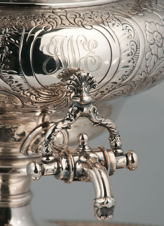 Silver Plated Tea Urn