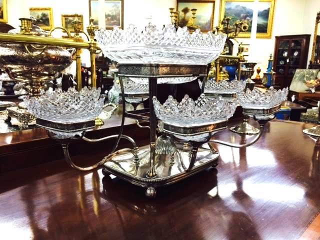 Sheffield Silver Plated Epergne