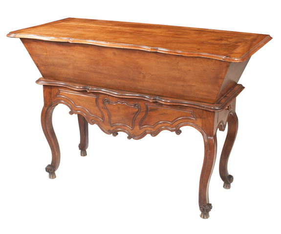 19th Century Country French Walnut Petrin