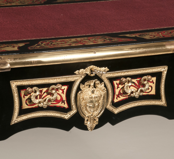 Bronze Mounted Louis XV Boulle Style Writing Desk  (SOLD)