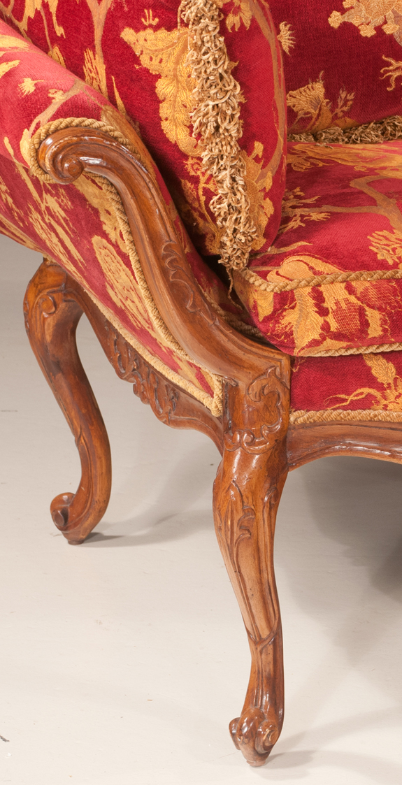Louis XV Style Settee by Southwood