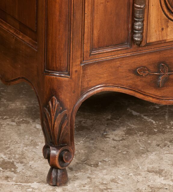 Country French Walnut Buffet