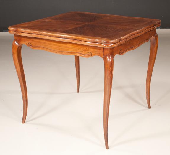 Louis XV Style Oak Game Table