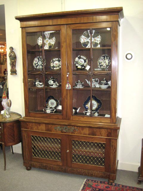 Regency Bookcase Secretary