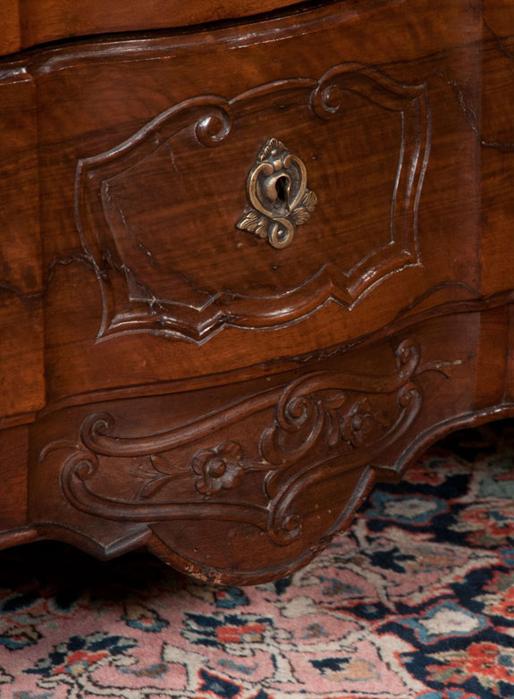 Fine 18th Century Country French Walnut Commode