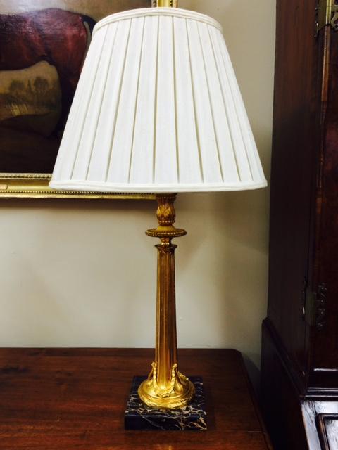 A Dore Bronze Lamp