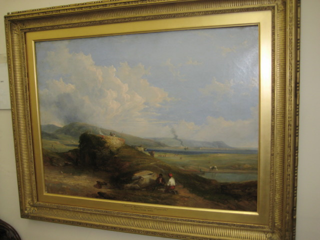 Oil On Canvas By William Williams Of Plymouth