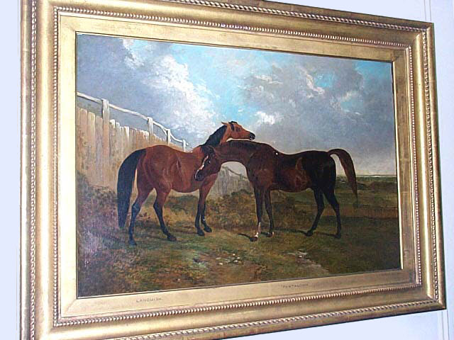 Oil On Canvas By John F. Herring, Sr.