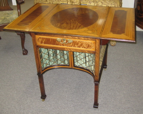 A Chippendale Style Pembroke Table