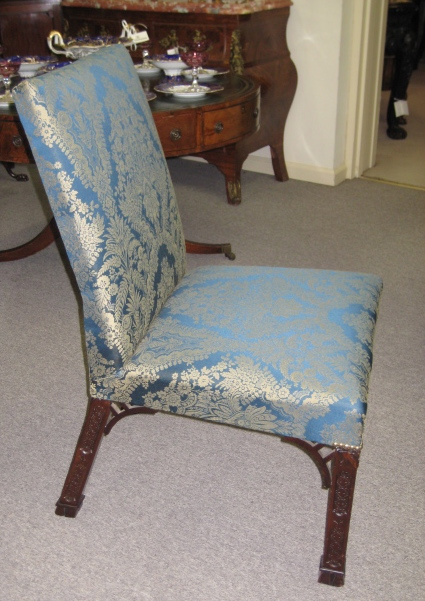 Pair Of Mahogany Side Chairs