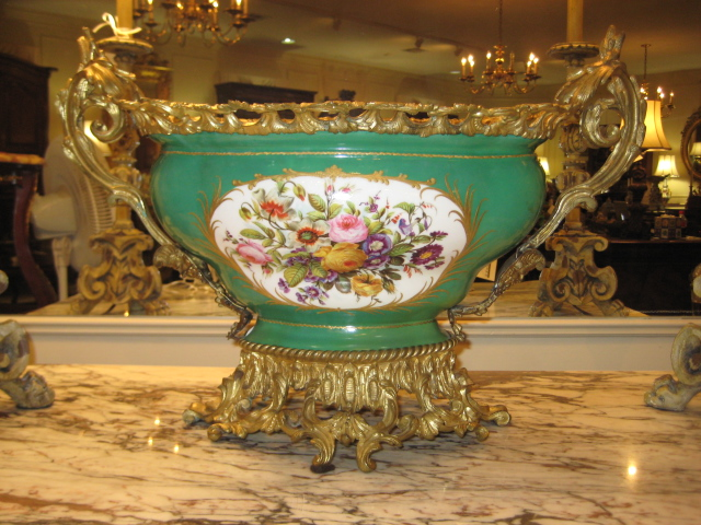 Sevres Oval Centerpiece, French