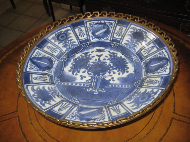 "Japanese ""arita"" Ceremonial Dish"