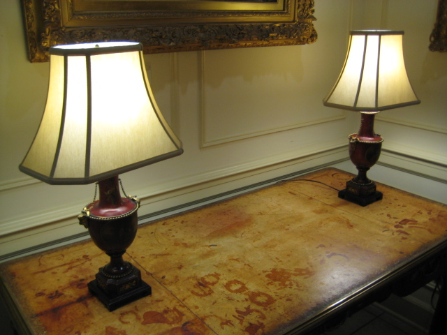 Pair Of Louis XV Lamps