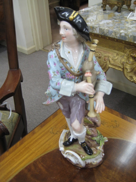A Meissen Figure, The Piper